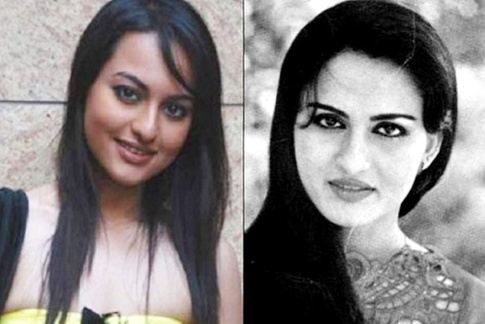 Sonakshi Sinha and Reena Roy
