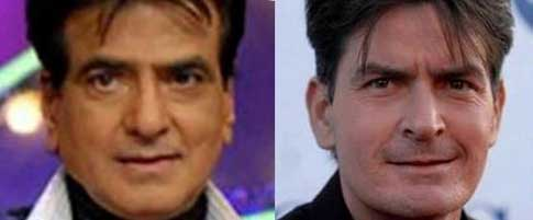 Jitendra and Charlie Sheen