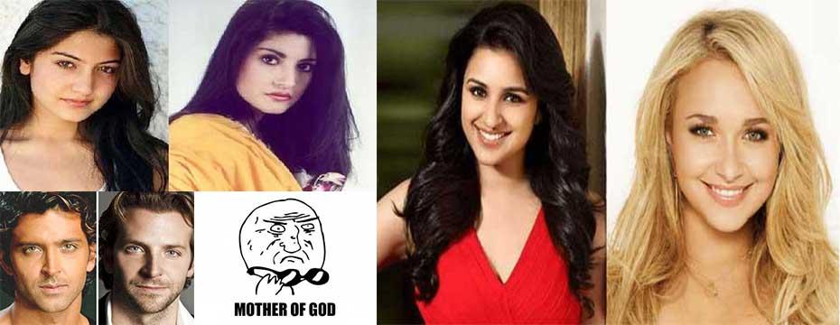 Unbelievable LookAlikes Of Indian Celebrities - 24 celebrities and their incredible look alikes from past