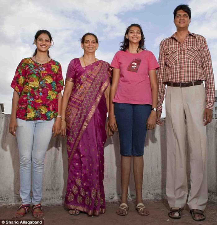 12th-tallest-family-in-India