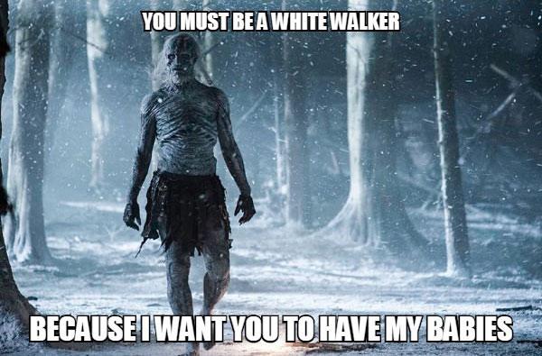 snow white pick up lines