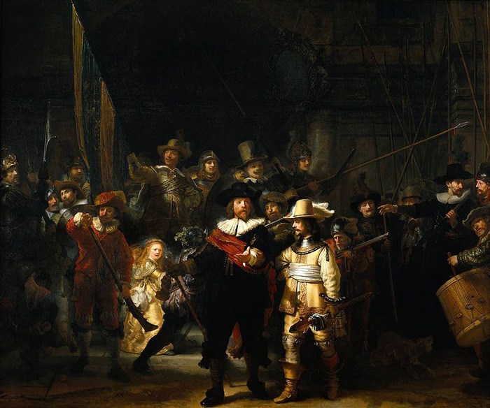 8_The_Nightwatch_by_Rembrandt