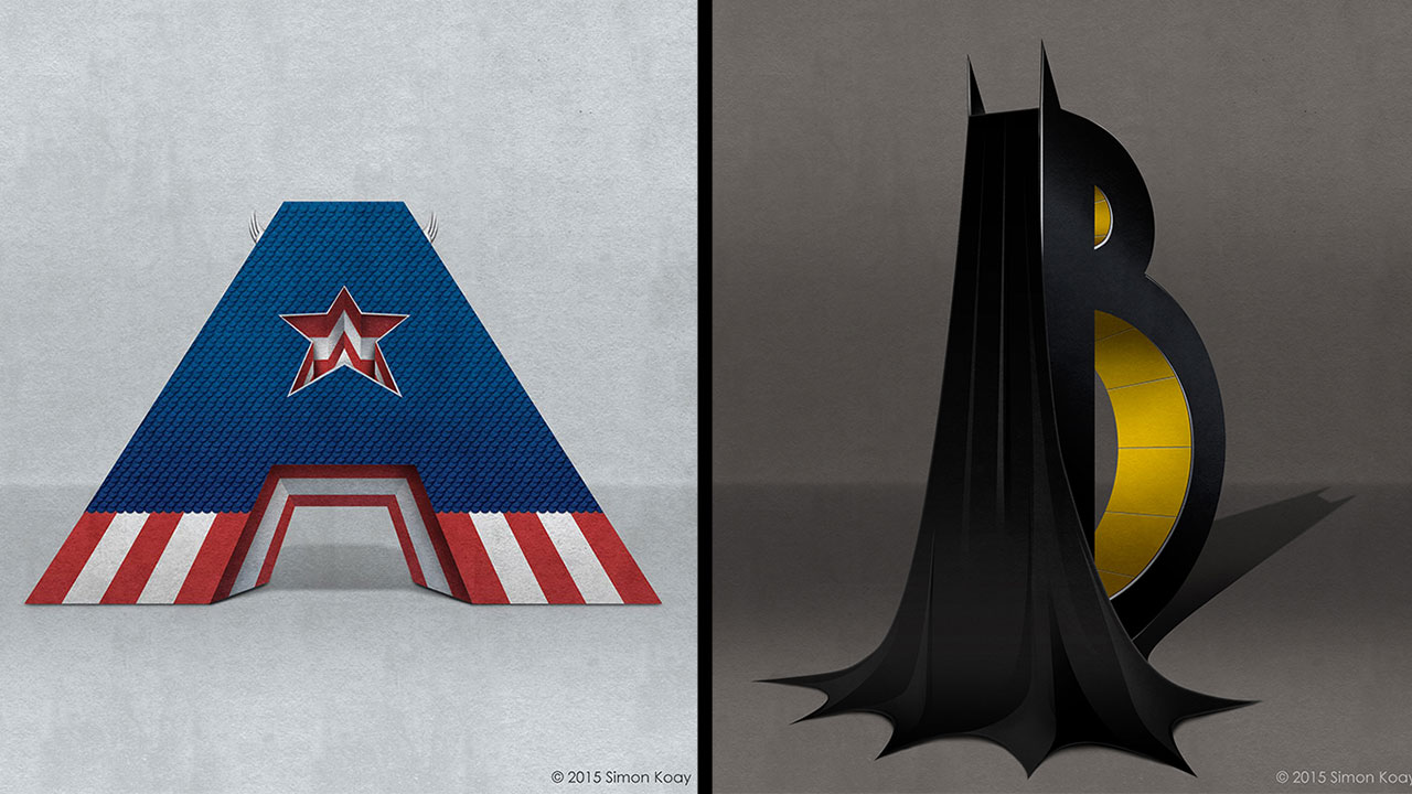This A-Z Of Comic Book Superheroes And Villains Is Simply Fabulous