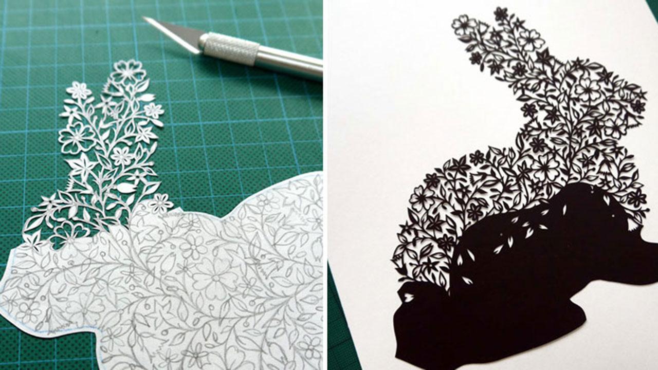 Чем вырезать рисунок на бумаге