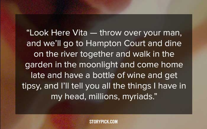 15 romantic quotes from letters of famous writers that will make you 9 virginia woolf to vita sackville west spiritdancerdesigns Images