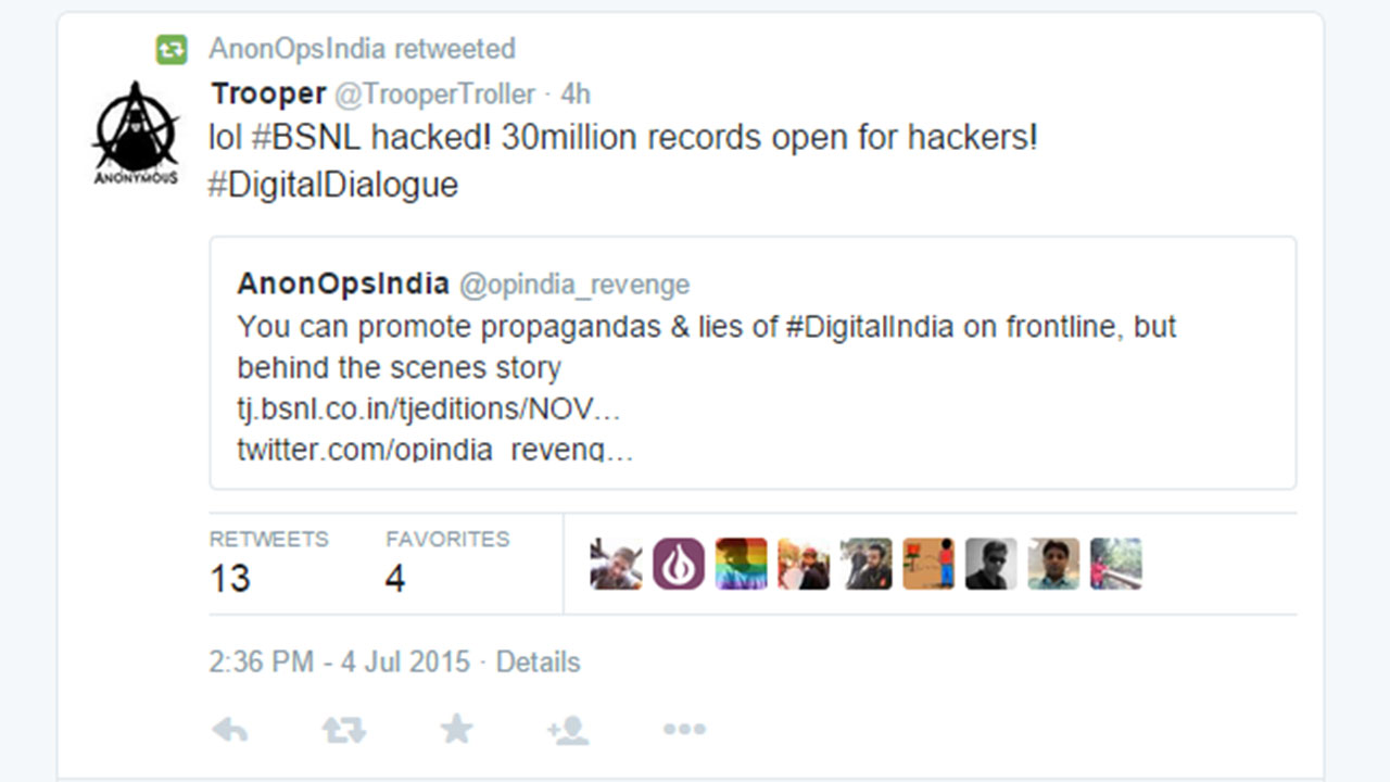 Latest News - BSNL.co.in Website Hacked: BSNL's Official ...