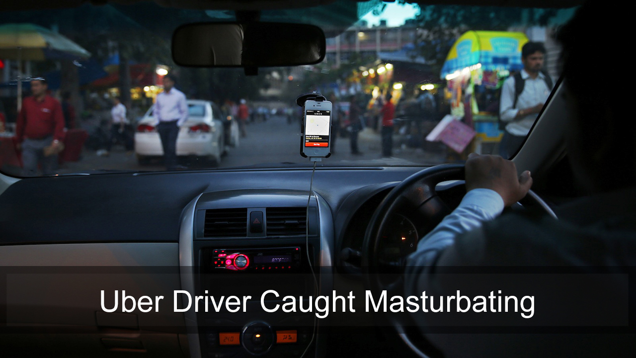 Taxi driver arrested after woman catches him masturbating