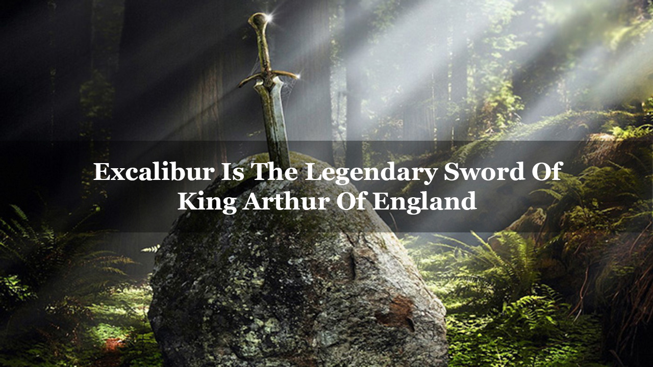 11 famous swords from history and mythology that have