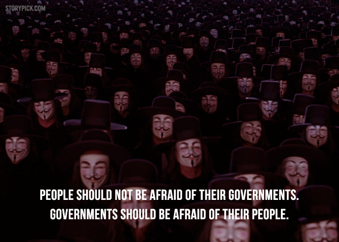 11 Mind Blowing Quotes From V For Vendetta To Trigger Your Thoughts