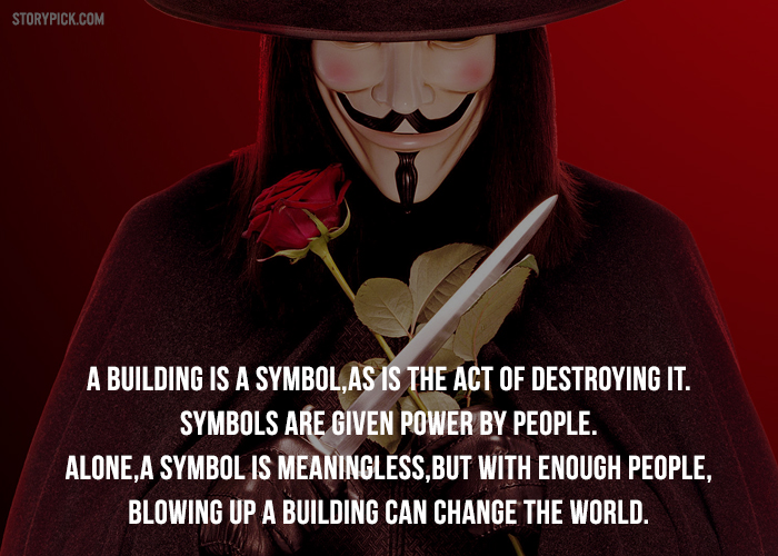 V For Vendetta Quotes | 11 Mind Blowing Quotes From V For Vendetta To Trigger Your Thoughts