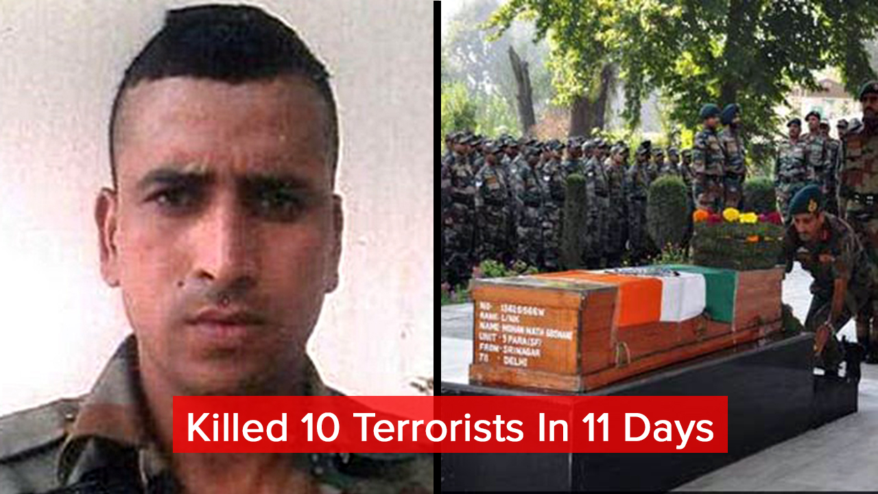 Commando Goswami Sacrificed His Life. Here's Everything You Should Know About Him.