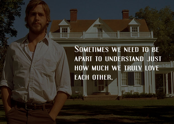 quotes from the notebook that have immortalized love image source