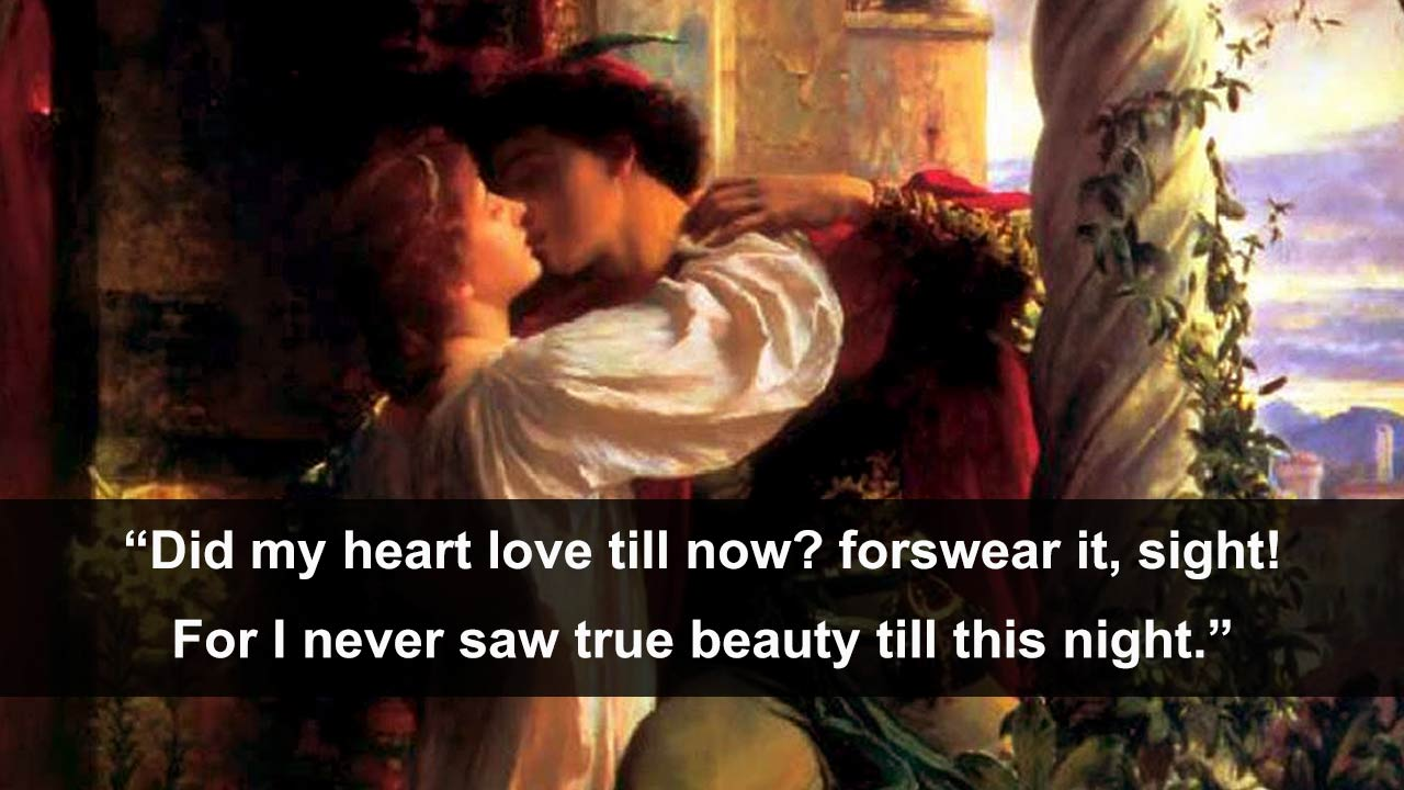 an analysis of the true meaning of love in romeo and juliet by william shakespeare What happens when romeo and juliet fall in love watch this story, one of our ' shakespeare lives' videos, and find out.