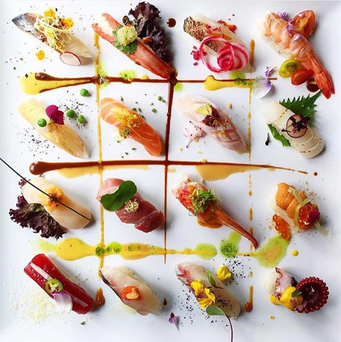 15 most artistic food presentations from across the world for Asian cuisine ppt