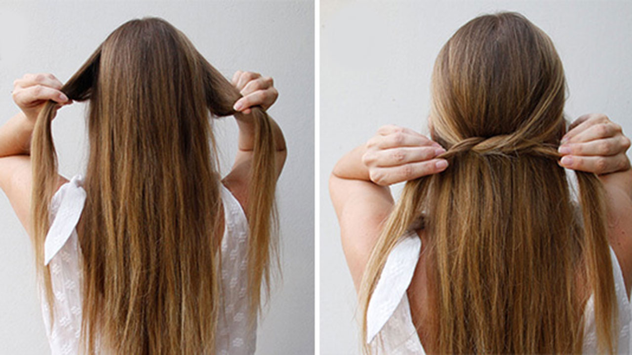 easy ways to style long straight hair 11 ways you can style your hair even if it s as stick 9270 | coverhairstyle1