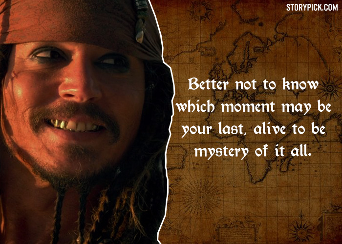 10 Crazy Quotes By The Legendary Jack Sparrow That Are ...