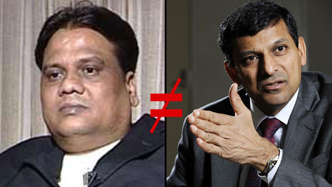 Ndtv Just Made A Major Blooper And Confused Rbi Chief Raghuram Rajan With Chhota Rajan