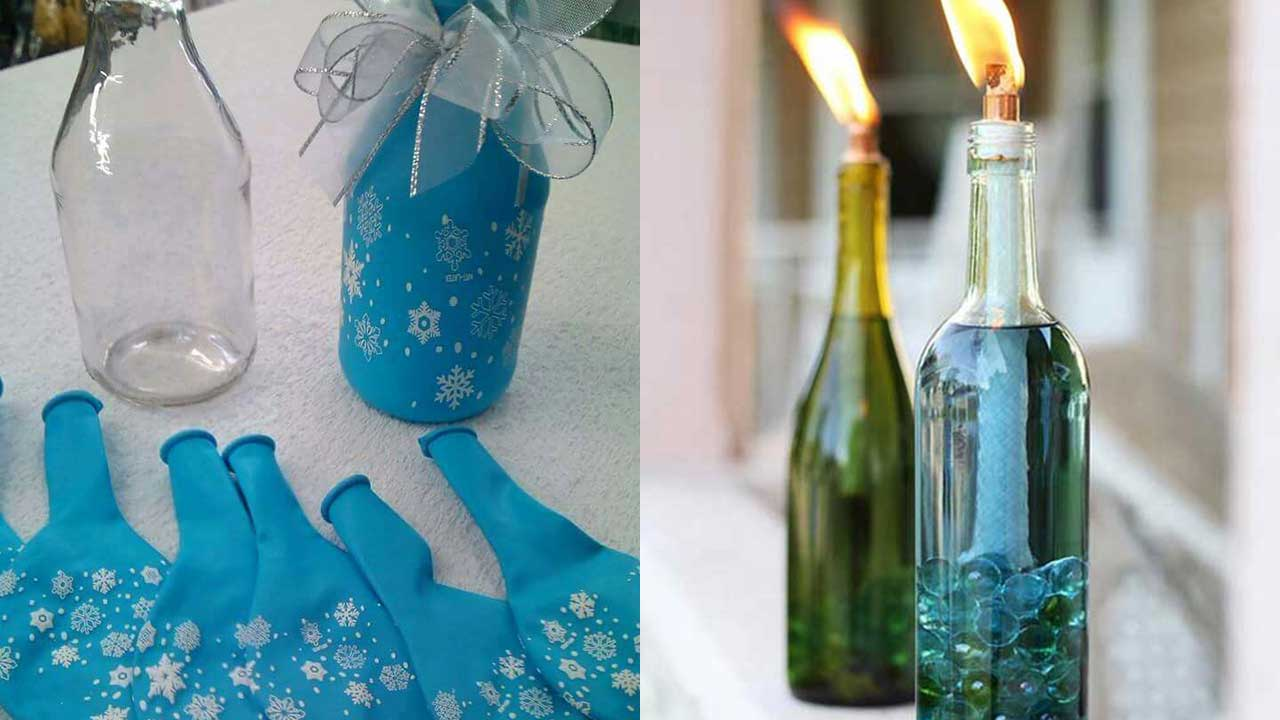 28 Creative DIY Tricks To Reuse Those Bottles Lying Around In Your House