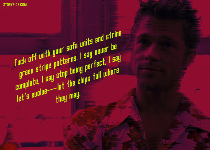 20 Quotes From The Movie Fight Club That Define \