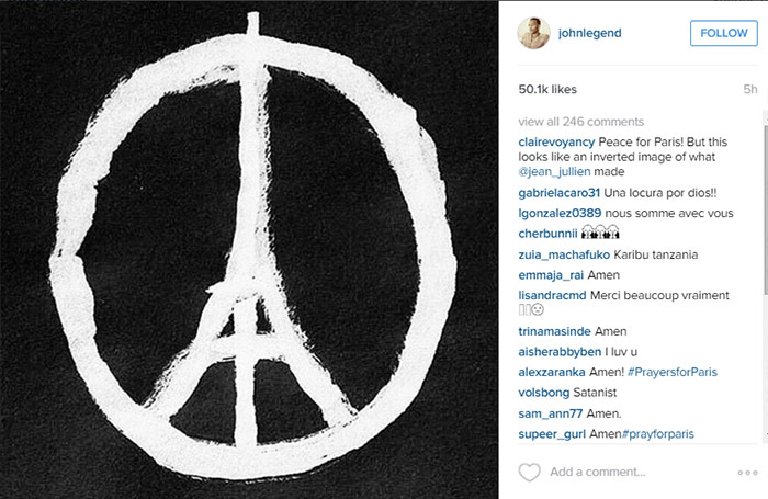 Amidst Paris Attacks This Symbol For Peace Is Going Viral To Show