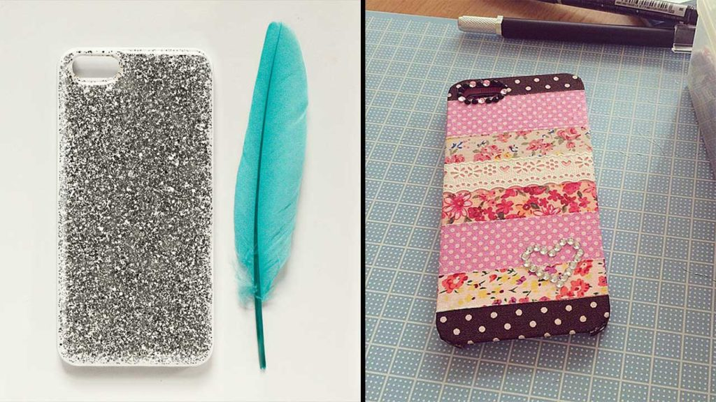 17 Ways To Decorate Your Phone Cover And Make It Look Fantastic