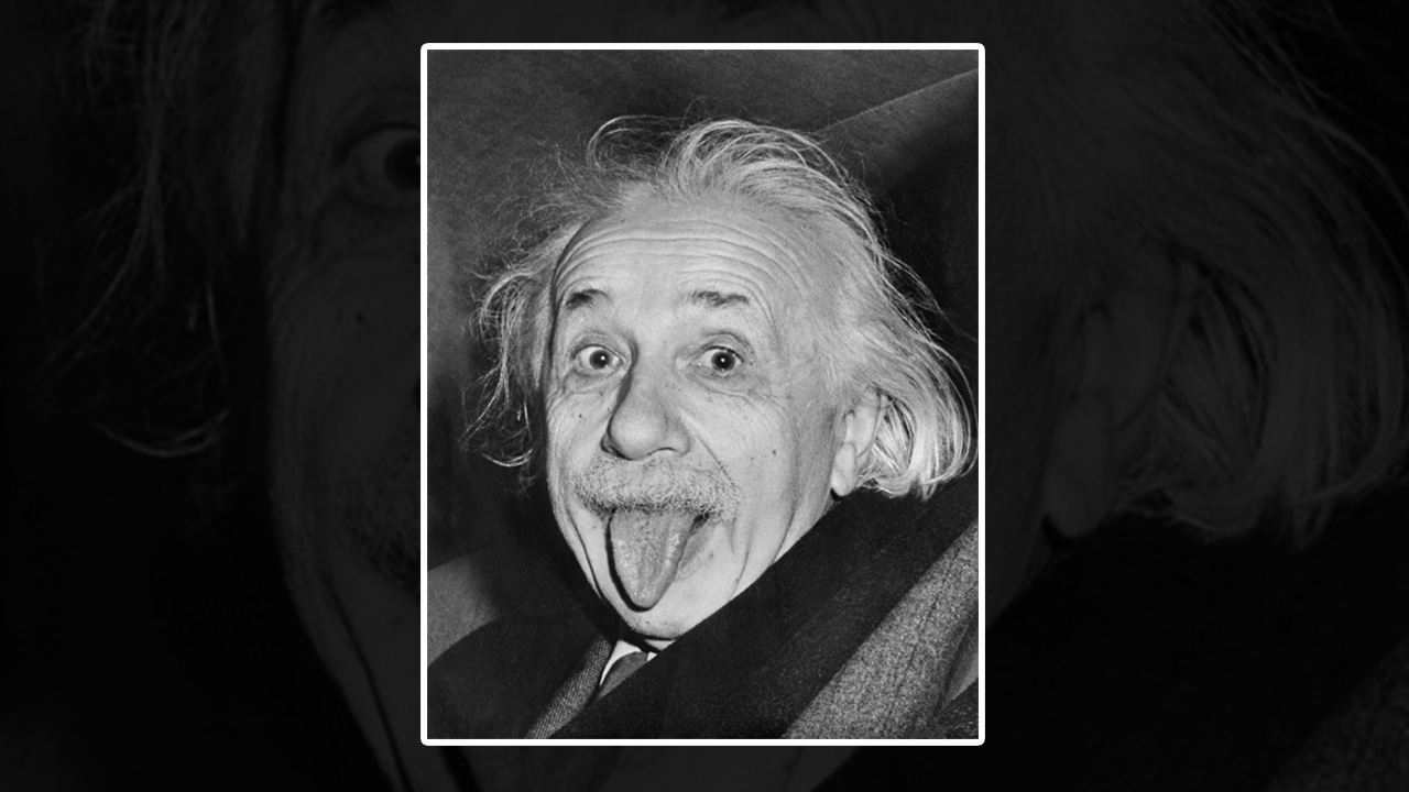 here s the story behind albert einstein s most iconic photograph of