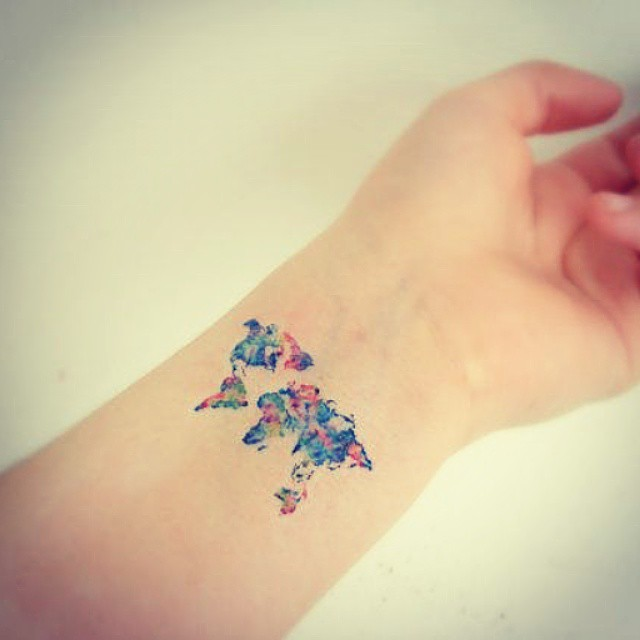 30 Travel Tattoos You Should Totally Get If Youre A Wanderer By Heart
