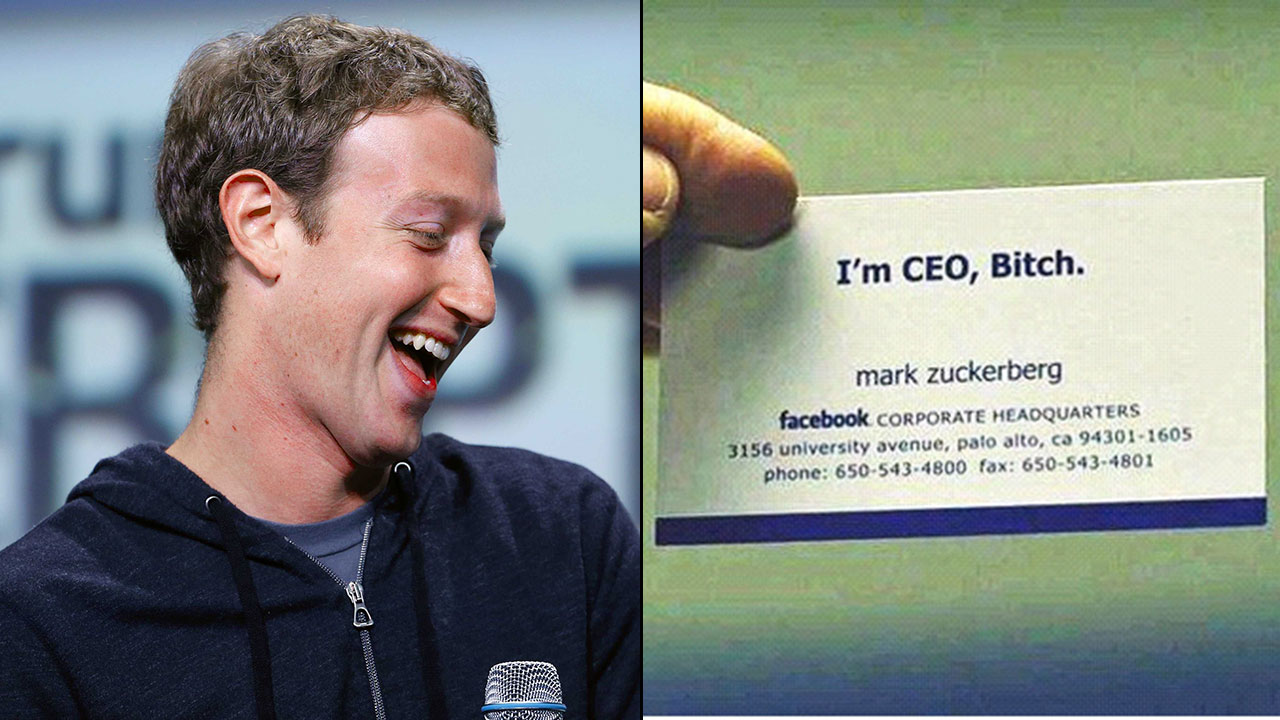 15 famous people and their unique business cards magicingreecefo Gallery