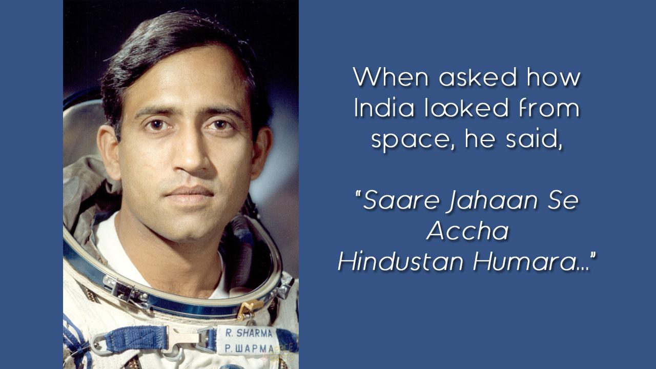 rakesh sharma moon landing images - photo #38