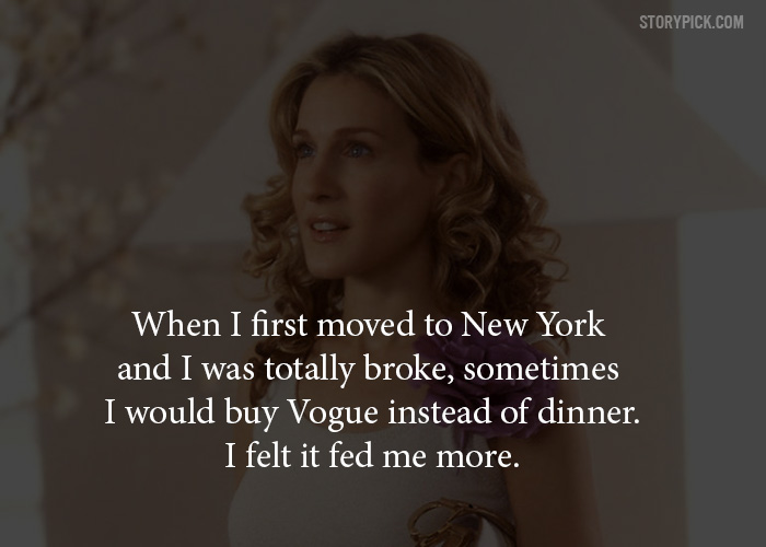 Quotes by carrie from sex and the city