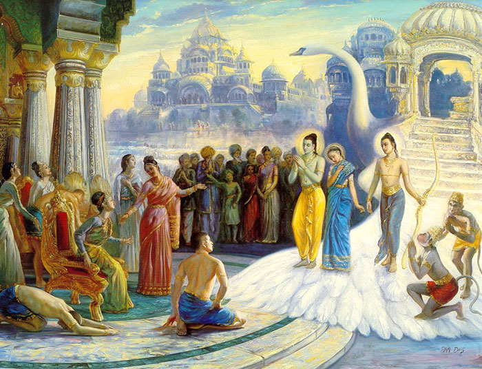 Two Rare Stories About How Rama, Sita And Laxmana Passed Away After