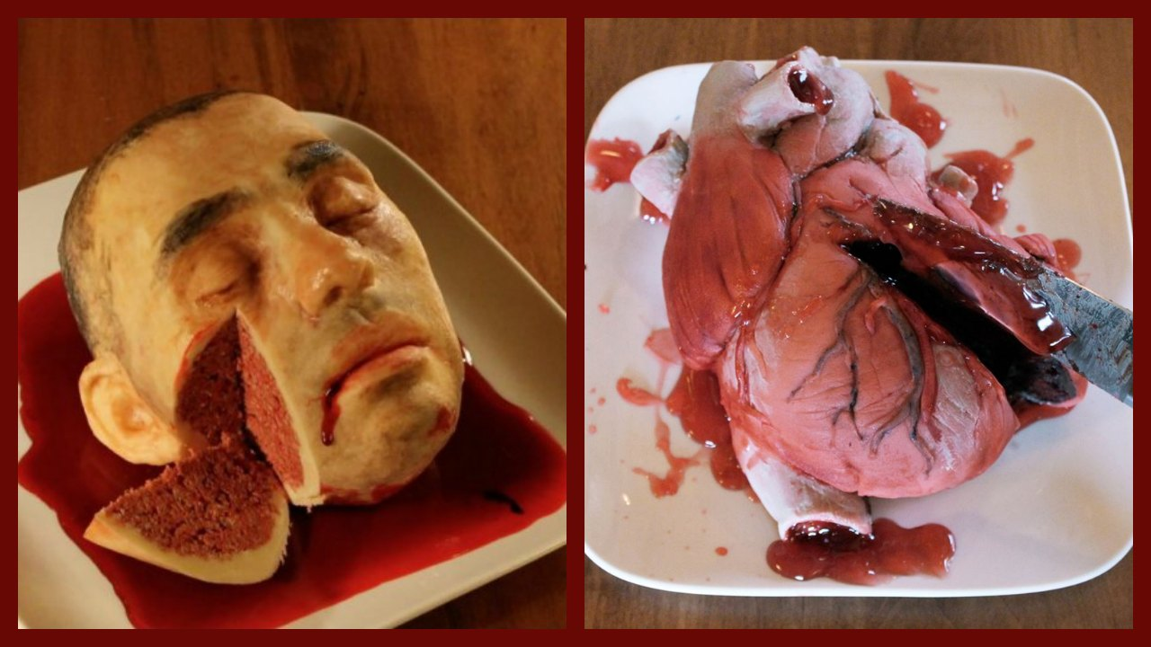 20 Realistic Cakes That Will Make You Cringe Just At The