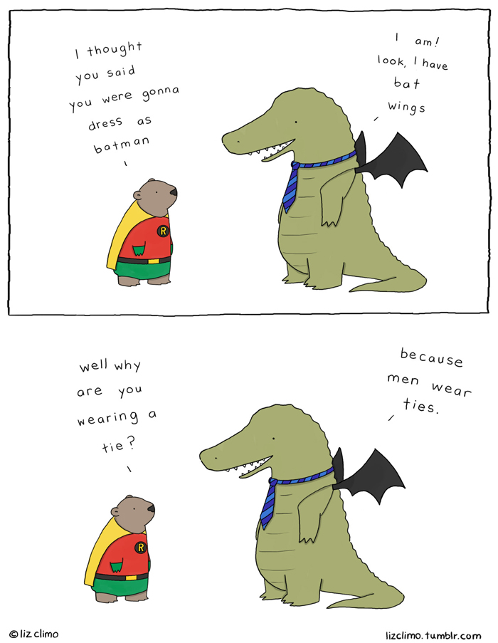 30 Ultra Cute Animal Comics By Simpsons Artist Liz Climo