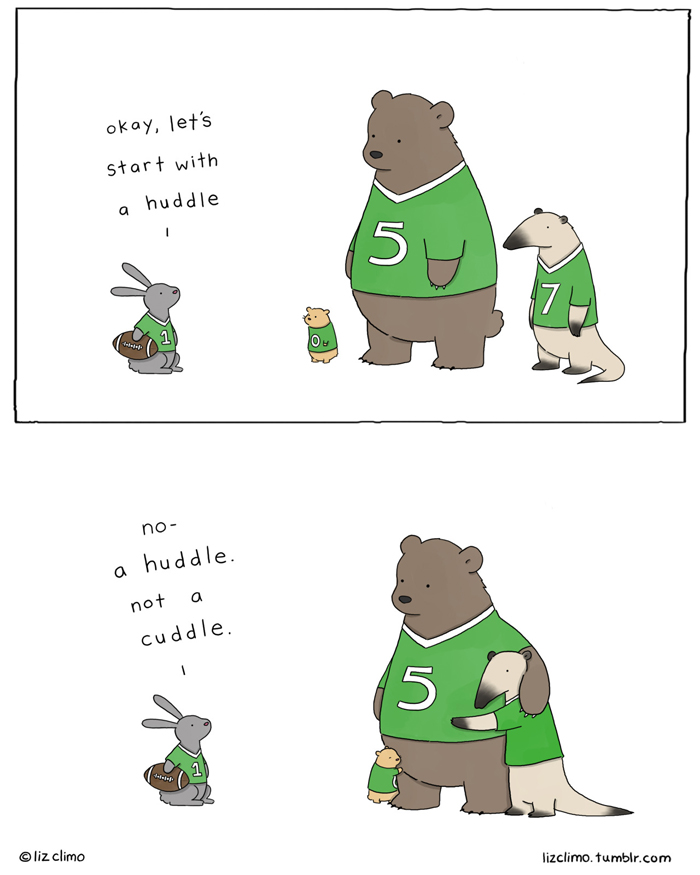 I Want To Cuddle With You Quotes: 30 Ultra Cute Animal Comics By Simpsons Artist Liz Climo