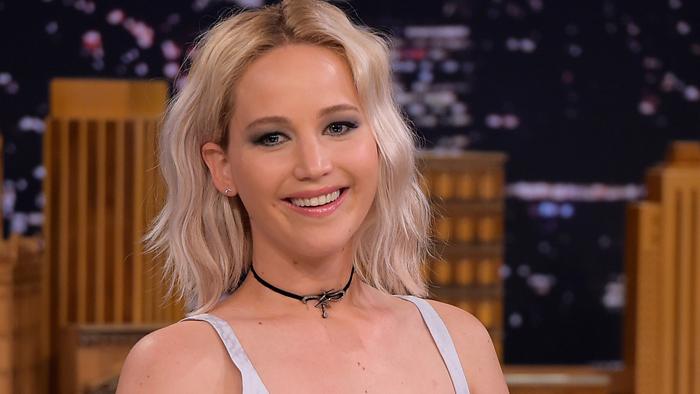Jennifer was forced to do naked line-up