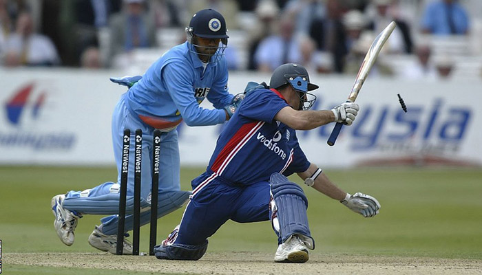 While-Dravid-is-an-automatic-choice-as-a-batsman-and-an-excellent-fielder-he-would-occasionally-be-asked-to-keep-wicket-in-order-to-improve-the-balance-of-the-limited-overs-side-picking-up-14-s