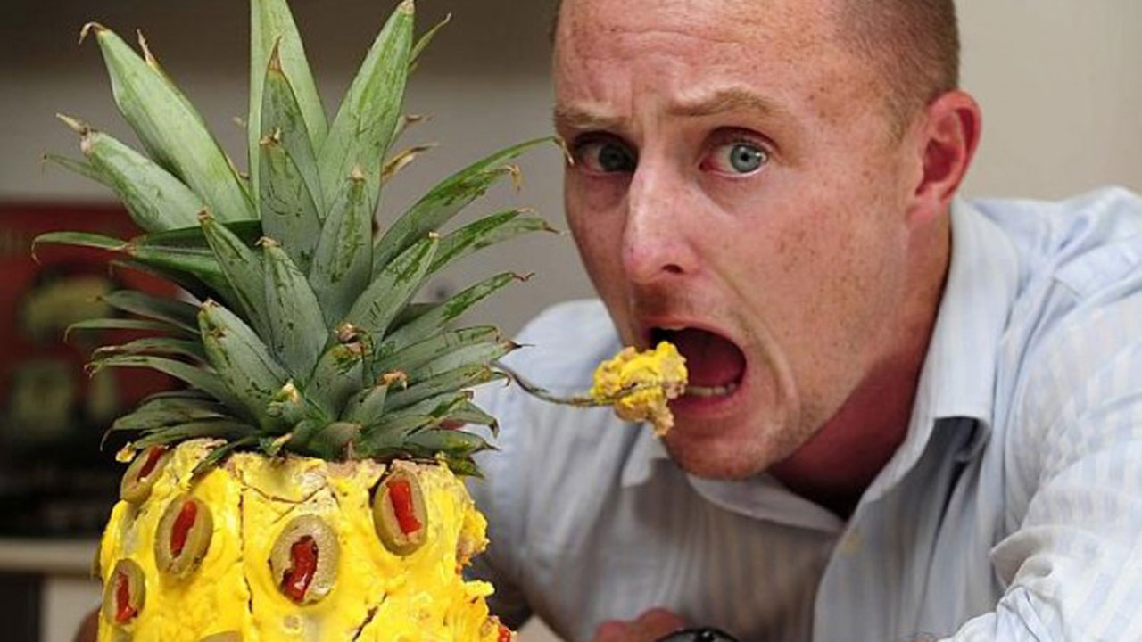 Did You Know That When You Eat A Pineapple  The Pineapple
