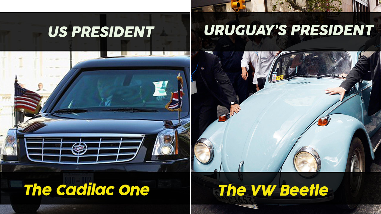 12 Popular Heads Of States And The Cars They Drive