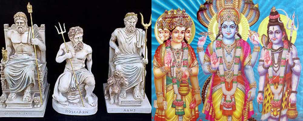 Greek Hindu Gods Share Similarity Indianspice