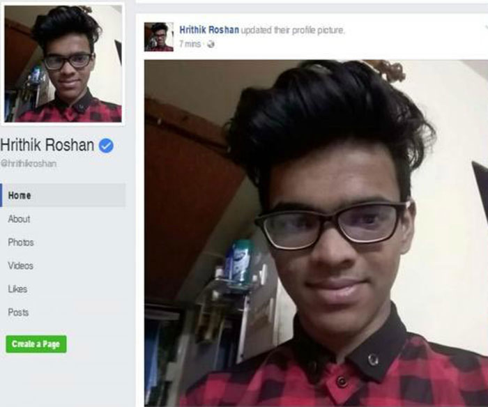 Hrithik Roshan's FB Account Gets Hacked  Hacker Even Starts