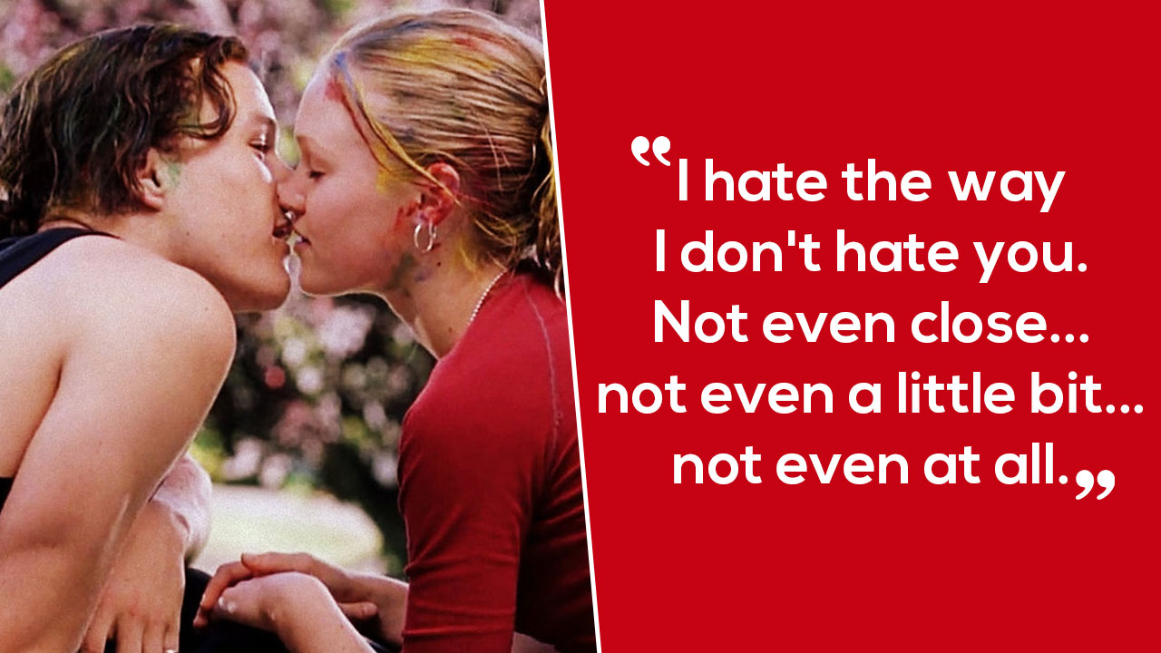 Movies Love Quotes 10 Things I Hate About You: 12 Quotes From '10 Things I Hate About You' That'll Make
