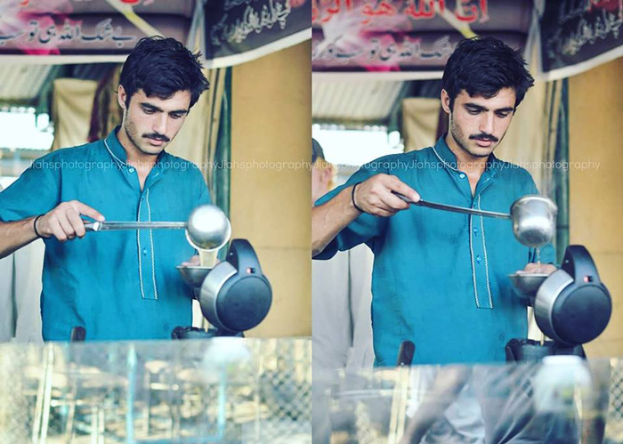 Looking Chai wala is now a model