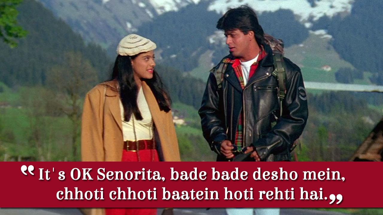 Dialogues ddlj srk in Shah Rukh
