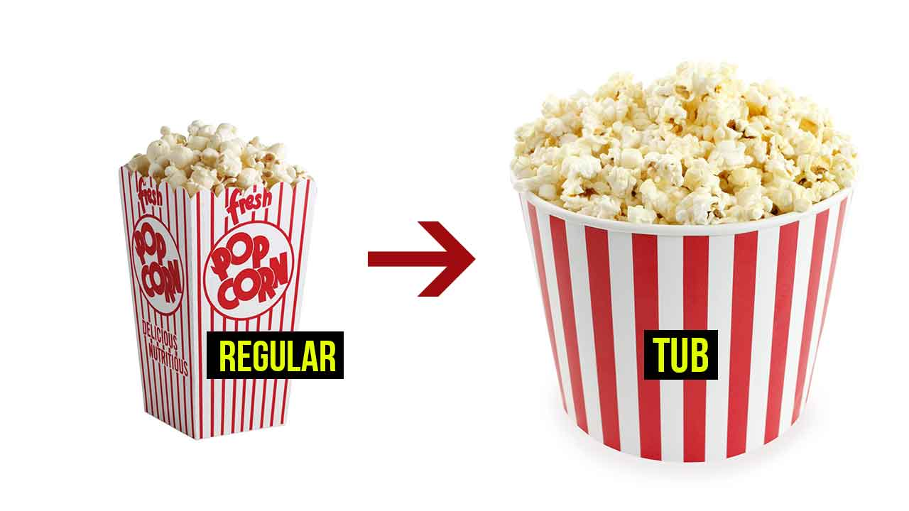 In Mumbai Delhi And Bangalore If You Buy Regular Popcorn