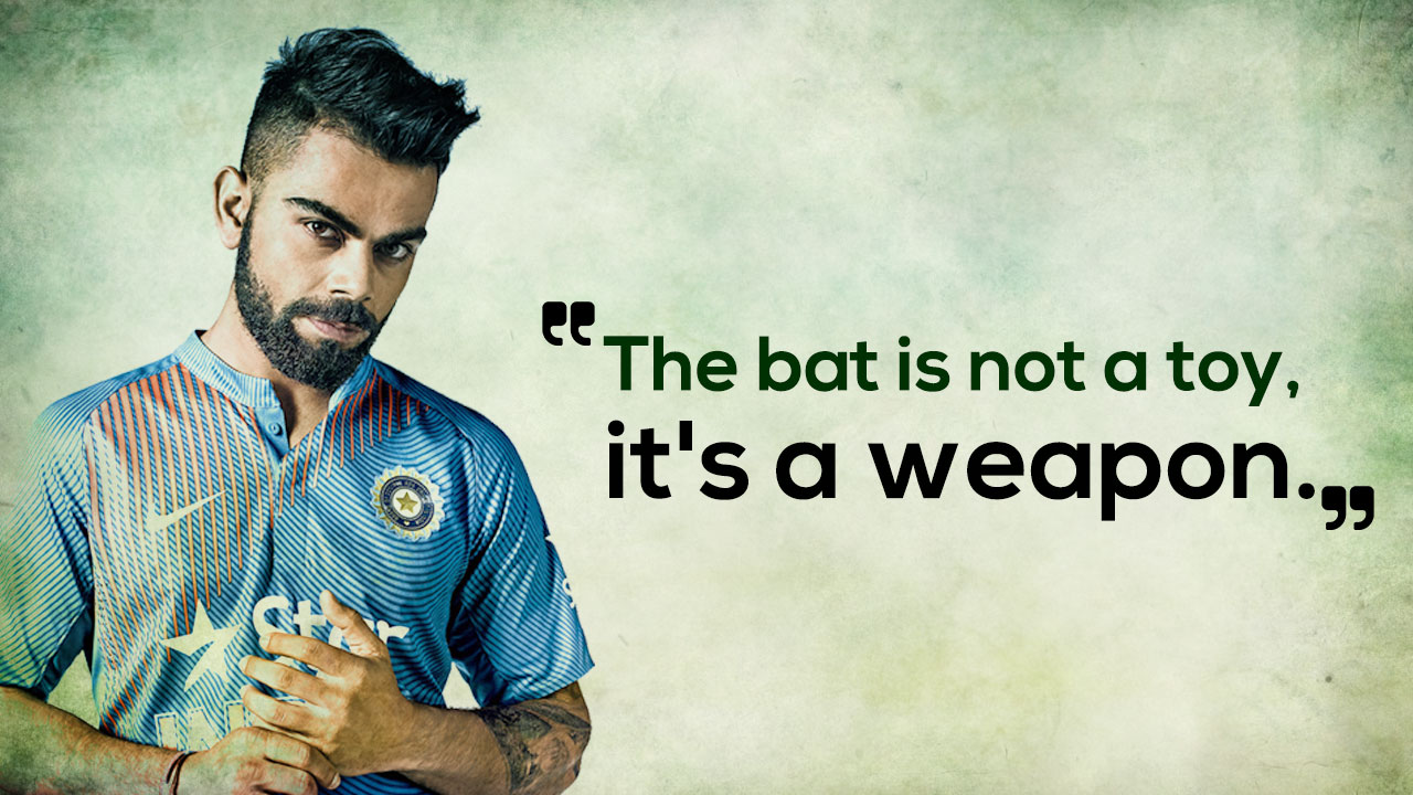 5 Quotes By Virat Kohli That Will Definitely Inspire You To