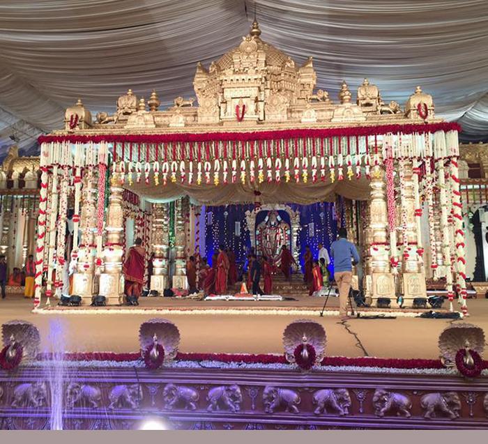 500 crore wedding
