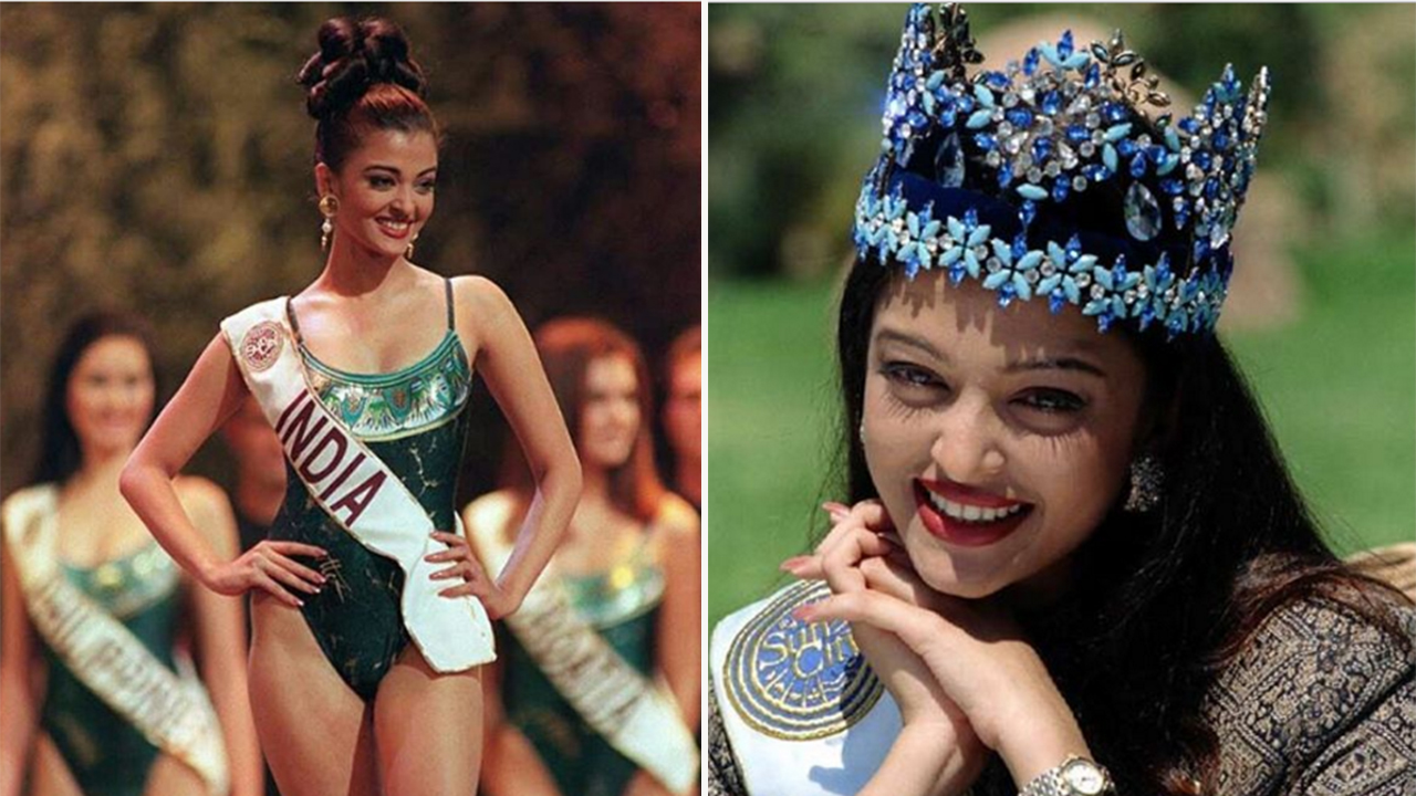 22 years ago today, aishwarya was crowned miss world and the