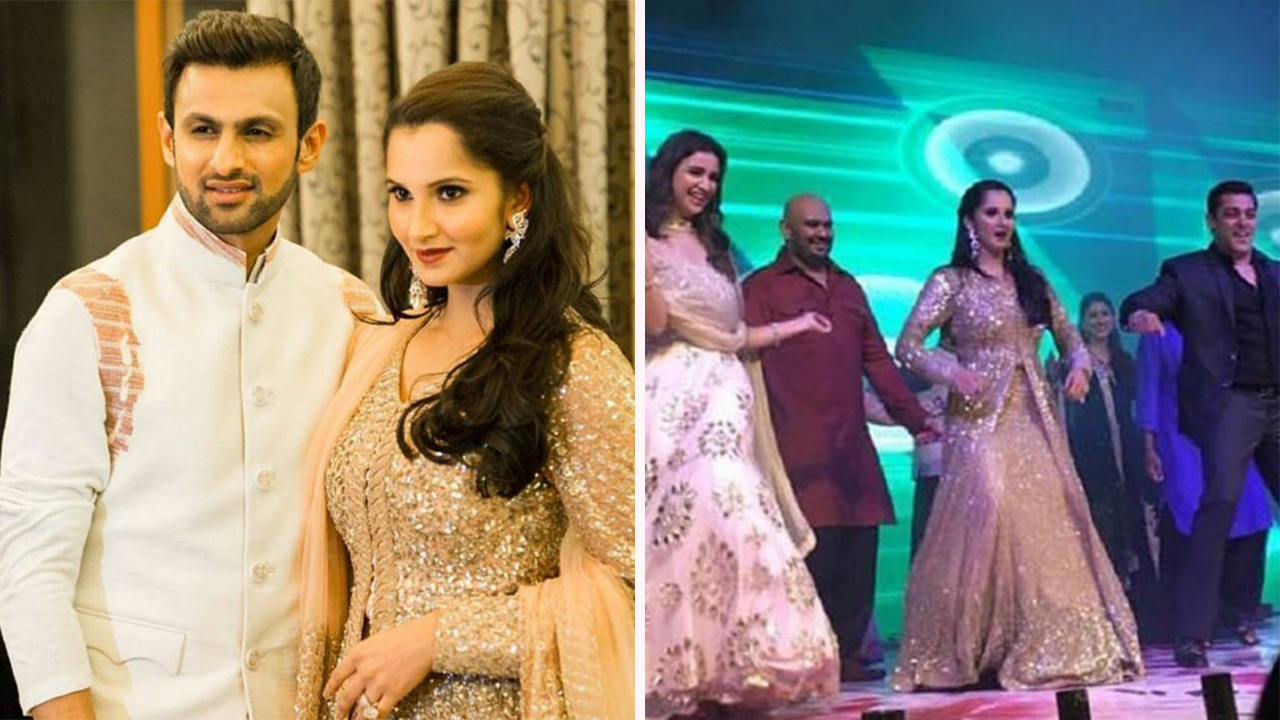 Sania Mirzas Sisters Sangeet Was A Starry Affair And The Pictures Scream Stunning