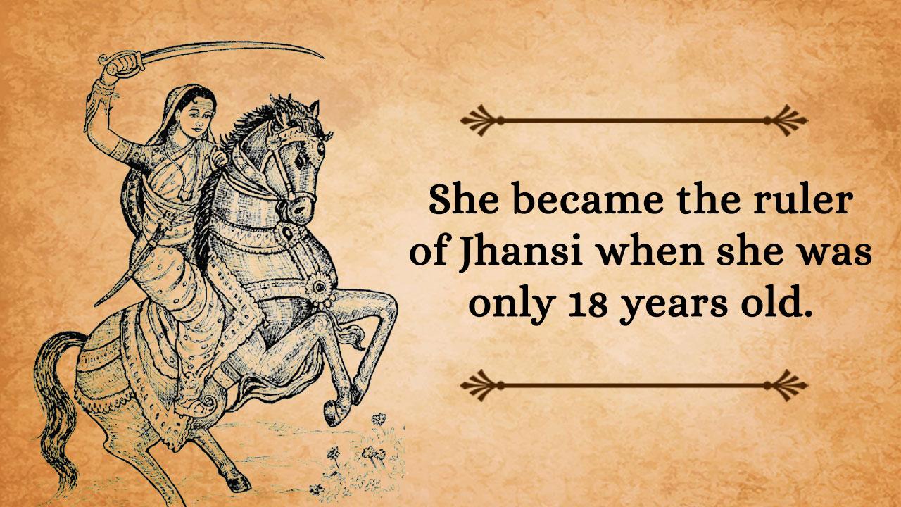 few lines on jhansi ki rani