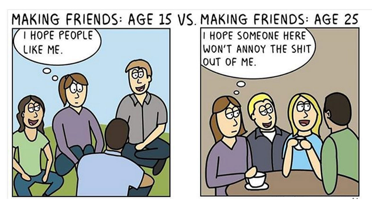 Funny Adult Comics 35 funny illustrations on adulthood that will make every